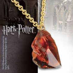 Harry Potter Pendant with Chain Sorcerer´s Stone | Captain Hook Merchandise