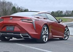 Based on a new global platform, the stylish Lexus LC 500 sets its sights on the Mercedes-Benz S-Class Coupe.The 2017 LC 500 shows where Lexus is he. L Car, Lexus Lc, Benz S Class, Mercedes Benz, Bike, Vehicles, Video 2017, Future, Motors