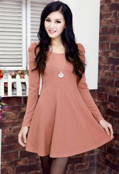 Elegant Women's Long sleeve Dress