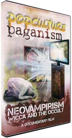 POP CULTURE PAGANISM - neovampirism, wicca and the occult DVD