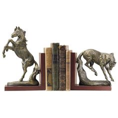 Wild and Free Bookends - Western Wear, Equestrian Inspired Clothing, Jewelry, Home Décor, Gifts