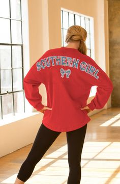 The official Spirit Jersey®; Shop select Spirit Jersey & Spirit Clothing Co. Spirit Clothing, Clothing Co, Preppy Southern, Spirit Jersey, Outfit Goals, Country Girls, Girls Out, Graphic Sweatshirt, Tees