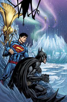 Superman & Batman by Tyler Kirkham