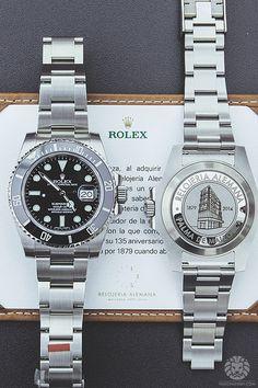 Rolex SubmarinerRelojeria Alemana Limited Edition.