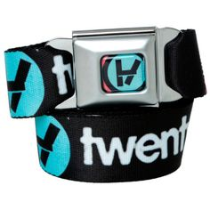 Twenty One Pilots Logo Seat Belt Belt | Hot Topic ($27) ❤ liked on Polyvore featuring accessories, belts and logo belt
