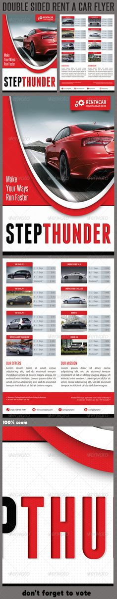 Rent A Car Corporate Flyer 02  #GraphicRiver         High impact Multiuse Corporate double-sided Rent a Car Flyer template, perfect for business advertisement or product promotion!  Pack included:   2 PSD files  Double sided flyer  A5 – 210×148mm   154×216mm Print size  3mm Bleed each side  Print Ready  CMYK  300 dpi  High Quality   Bleeds, Guidlines, Safelines  Highly Organised Layers  Hand drawing shapes inside  Clean Design  Read me file (included instrucions)…