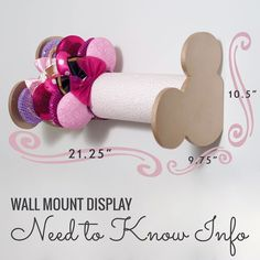 this idea for displaying Disney ears! Informations About Happily Severin After Designs ( Disney Diy, Deco Disney, Disney Home Decor, Disney Crafts, Disney Trips, Disneyland Trip, Disney Stuff, Disney Mickey Ears, Mickey Mouse Ears