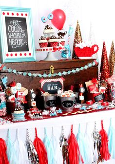 We're sharing a fun styled winter hot cocoa party display and HUGE GIVEAWAY! We've partnered with 15 awesome businesses to bring you an inspirational party display and a $450 prize pack! Head over to our blog to get details on the party and enter to win! | The Bakers Party Shop  #giveaway #hotcocoa #hotcocoaparty #childrenspartyideas #childrensparty #winterparty