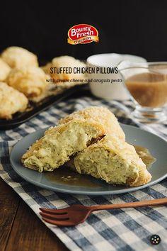 Chicken Recipe : Stuffed Chicken Pillows