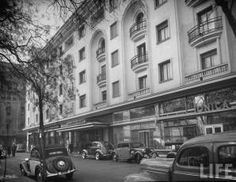 """Bucharest photos from the first decades of the century - mostly from the interwar period (between the two World Wars). ♦ The end of """"Little Paris"""" (click photo) ♦ Hotels In Romania, Visit Romania, Old Pictures, Old Photos, Fort Peck Dam, Margaret Bourke White, Little Paris, Bucharest Romania, Palace Hotel"""