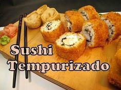 Receta de Sushi Tempura ★ - YouTube