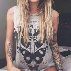 Shirt: grey, sleeveless, t-shirt, summer outfits, summer top ...