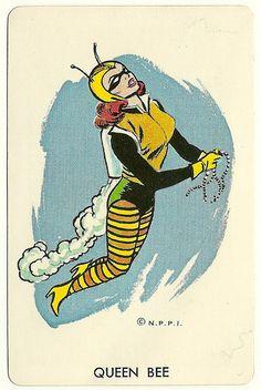 Queen Bee by willie baronet #art #artwork #batman #comics #comicbooks #dccomics #retro