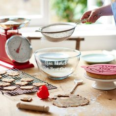 GET YOUR BAKE ON. All you need to win star baker is a sprinkling of assorted cookie cutters and a personalised baking set (we hear all the contestants have them).