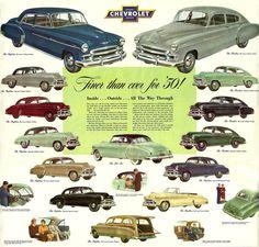 1950 Chevy's