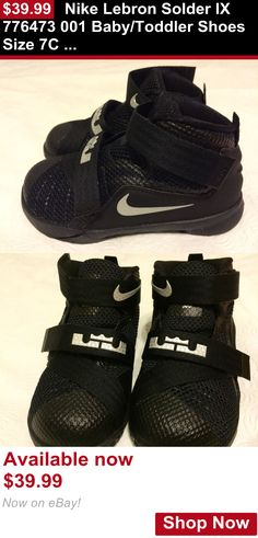 Baby boys clothing shoes and accessories: Nike Lebron Solder Ix 776473 001 Baby/Toddler Shoes Size 7C New BUY IT NOW ONLY: $39.99