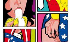 La vida secreta de los superhéroes, ilustraciones de Grégoire Guillemin image 2