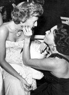 Barbara Stanwick and Joan Crawford besties!