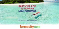 Farmacity - Participá por 15.000km Latam Pass Extras