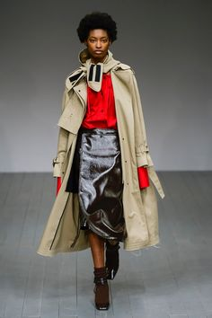 Eudon Choi Fall 2018 Ready-to-Wear Fashion Show Collection