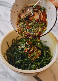 Chinese Seaweed Salad (凉拌海带丝) | The Woks of Life Healthy Summer Recipes, Healthy Meals For Kids, Easy Healthy Dinners, Healthy Eating, Sea Weed Recipes, Asian Recipes, Ethnic Recipes, Seaweed Salad Recipes, Bright Line Eating Recipes