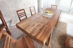 meble - stoły i stoliki-Stół jadalniany Pure Hell sheesham 120-200cm