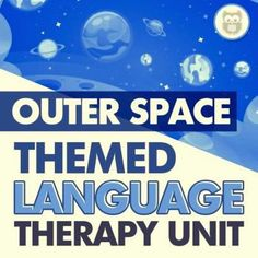 Looking for fun, engaging, and unique speech therapy activities? This themed language therapy unit includes a wide variety of materials and resources for your students with language goals using a fun and engaging OUTER SPACE theme! Target core vocabulary, basic concepts, describing, tier 2 vocabulary, and much more with this space themed language therapy unit! Sensory Activities For Autism, Speech Therapy Activities, Language Activities, Receptive Language, Speech And Language, Teaching Autistic Children, Figurative Language Activity, Outer Space Theme, Vocabulary