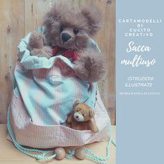 SACCA MULTIUSO per cameretta Teddy Bear, Toys, Animals, Activity Toys, Animales, Animaux, Clearance Toys, Teddy Bears, Animal