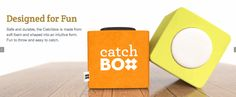 聴衆に向けて投げることができるマイク『The Catch Box』