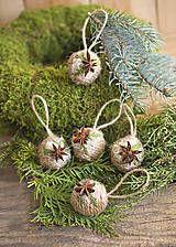 Natur Christmas balls