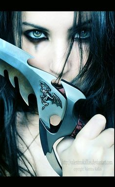 Black Dagger Brotherhood.   I have that Knife.