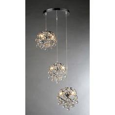 Warehouse of Tiffany Links 3 Light Crystal Chandelier & Reviews | Wayfair