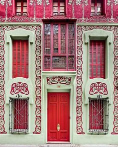 #architectureporn #pink #red #fun #townhouse (at IMPERIO jp Ltd.)