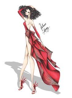Mother Gothel Haute Couture by Guillermo Meraz by frozen-winter-prince on deviantART