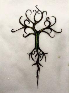 Yggdrasil design by MiladyByron