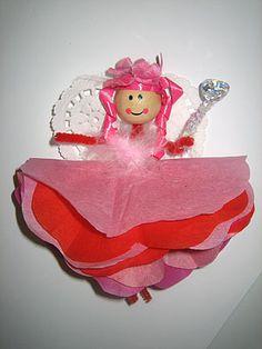 A Valentine Fairy Craft Toddler Valentine Crafts, Valentines For Kids, Toddler Crafts, Diy Valentine, Arts And Crafts For Adults, Adult Crafts, Craft Projects For Kids, Craft Ideas, Kids Crafts