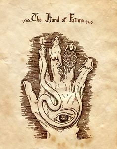 """The Hand of Fatima"" - Charmed - Book of Shadows"