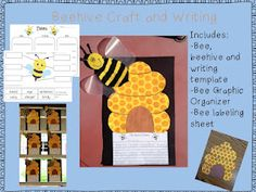 Bee craft: make bees and beehives