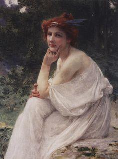 """La Muse"" - Guillaume Seignac (French, 1870-1924)"