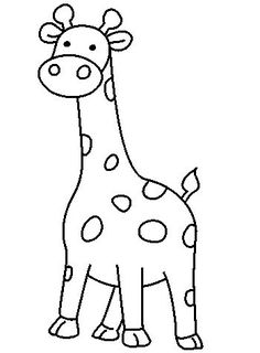 Drawing Doodle Easy How to Draw Giraffe, How to Draw for Kids, How to Draw Step by Step Giraffe Easy Giraffe Drawing, Giraffe Cartoon Drawing, Easy Animal Drawings, Giraffe Painting, Cartoon Drawings Of Animals, Easy Drawings For Kids, Drawing For Kids, How To Draw Giraffe, Drawing Ideas