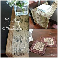 Earthy neutrals dy DivineNY.com
