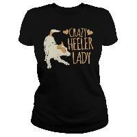 CRAZY HEELER LADY