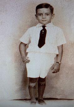 Desi Arnaz as a child