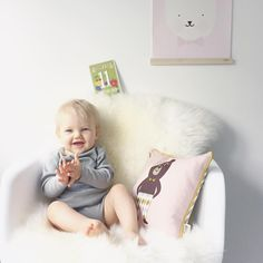 Decorate your kids room with fine organic cushions from ferm LIVING and style the walls with a cool wooden frame!  Shop kids: http://www.fermliving.com/webshop/shop/kids-room.aspx