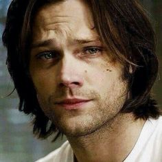 i want to hold him forever, pat his hair and tell him it's gonna be okay. my poor tortured sammy.