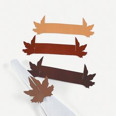 Fall Wedding Napkin Rings - OrientalTrading.com