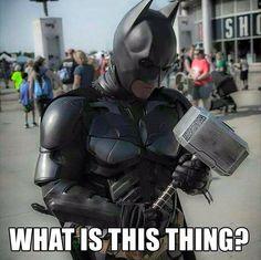 Bat Hammer! #thor