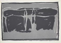 Litografia - Joan Hernandez pijuan - Landscape 2