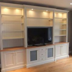 Cabinets for small bedroom space living room storage ideas plush furniture lovely cabinets cabinets for small Built In Tv Cabinet, Cabinet Shelving, Built In Cabinets, White Cabinets, Storage Cabinets, Room Shelves, Living Room Cabinets, Living Room Storage, Living Room Paint