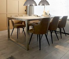 EETKAMERSTOEL VALERA GREY Dining Table, Grey, Furniture, Home Decor, Homes, Gray, Dinning Table, Interior Design, Dining Rooms